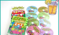 以$ 256 購買 Mr. Men and Little Miss DVD Boxset 1 + 2 ( 8 DVD ) +隨機贈送中或英文圖書一本  █免費送貨( 只限工商大廈 )