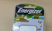 Energizer rechargeable battery aaa Mini charger 900 mAh* 如需送貨工商速遞到付$22元 住宅$38元到付