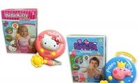 Peppa Pig 或 Hello Kitty   寶寶沖涼良伴 從此愛上沖涼