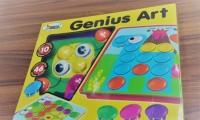 Genius ART  ** 發掘寶寶創意  自由組合不同的公仔圖案