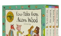 Tales From Acorn Wood (4 Books) 繪本翻翻紙板書,好看又好玩!