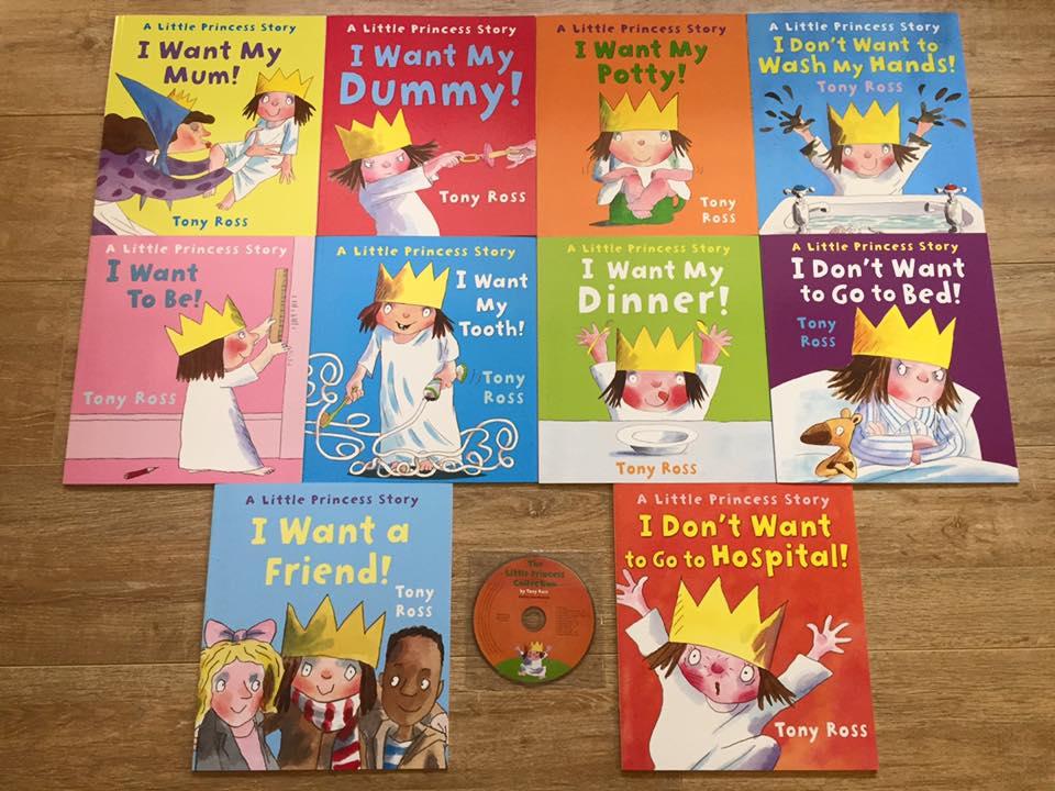 Little Princess 10 books ** 小公主生活品格繪本系列,讓它伴隨家中的孩子一起快樂成長!