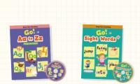 2017年11月出版全新圖書 Go! Aa to Zz +  Go Sight Words + ( 2 Books + 2 DVD )