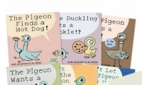 The Mo Willems' Pigeon Book Collection **美國凱迪克大獎**令人會心一笑的繪本