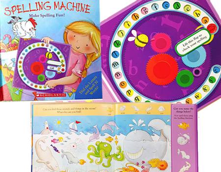 拼字小轉盤 Spelling Machine: Make Spelling Fun! **讓孩子在玩樂中學拼字