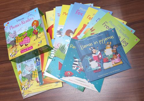 Usborne Phonics Readers (20 Books) *教育心理學專家的意見精心製作**提升讀寫能力加快讀寫能力
