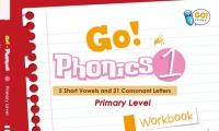 2018年6月全新點讀圖書* Go Phonics Workbook 1 香港大學何瑞清博士傾力著作
