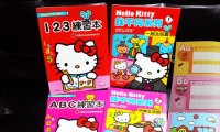 Hello Kitty ABC 練習本 + 123 練習本 + 找不同系列 1+2 共4書 **送神秘圖書一本