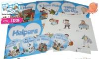 Baby Readers Blue Set ( 4 books + 4DVD + 32 Flash Cards ) ** 對應RASS LANGUAGE 點讀筆