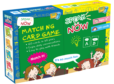 Speak now  ( 120 Flash Cards ) *對應 RASS LANGUAGE 點讀筆
