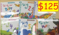 Sing Sing Together ( 6 Books 6 CD 78 game cards )