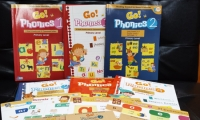 Go Phonics Level 1+2+4 ( 3Books +3Workbook +4Posters + 3DVD ) 香港大學何瑞清博士傾力著作 *免費工商及住宅送貨