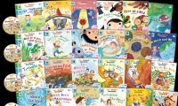 Go Readers Level 1+2+3+4+5 (30Books + 5 DVD) **免費送貨住宅