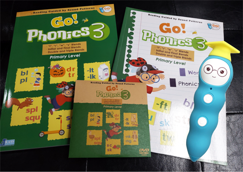 Go Phonics Level 3 (1 Book+1 WorkBook+1 DVD) **免費送貨